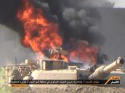 Video Tăng M1A1 Abrams bị vây đánh ở Iraq