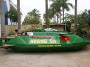 """Tàu ngầm tự chế Hoàng Sa vừa mang ra biển đã bị """"tuýt còi"""""""