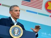 """Ông Obama: """"Xung đột Syria không phải là cuộc đấu giữa tôi và ông Putin"""""""