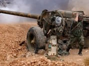 Video quân Syria nã pháo dữ dội vào sào huyệt Raqqa của IS