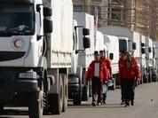 Đoàn xe cứu trợ tiếp cận các khu vực bị vây hãm tại Syria