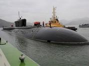 Nga công bố clip bên trong tàu ngầm hạt nhân hiện đại nhất