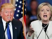 Ngày siêu bầu cử Mỹ: Bà Clinton thắng 8 bang, ông Trump thắng 7 bang