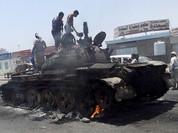 """Video Arab Saudi """"tự châm lửa đốt mình"""" ở Yemen"""