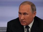 Tỷ lệ ủng hộ Tổng thống Nga Putin cao kỷ lục trong vòng 4 năm qua