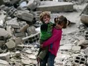 Vì sao trẻ em Syria chạy về hướng bom đạn?