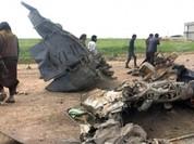 Video máy bay Iraq bị IS bắn hạ