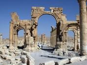 Máy bay Nga tiến hành hàng chục vụ không khích ở Palmyra