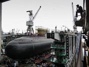 """Hải quân Nga hạ thủy tàu ngầm diesel-điện """"Veliky Novgorod"""""""