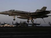 Video Mỹ không kích tan tành thành trì IS