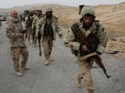Lính Syria tháo cờ IS trên pháo đài cổ Palmyra