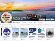 Cục Hàng hải Việt Nam ra trang Facebook và ứng dụng di động