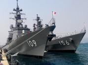 Cận cảnh hai chiến hạm tối tân Nhật Bản tại Việt Nam