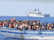 Tàu chở người di cư Libya bị chìm, gần 500 người thiệt mạng