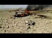 IS bắn rơi máy bay Syria, bắt sống phi công