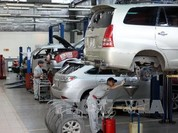 Toyota Việt Nam triệu hồi gần 800 xe Innova