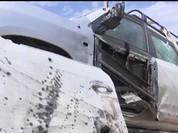 Video Xe chở đặc nhiệm SEAL bị đạn IS găm nát