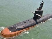 Video Tàu ngầm Ấn Độ tự đóng như 'hổ không nanh'