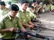 Kiểm lâm Yên Bái được trang bị 50 tiểu liên AK và 55 súng ngắn K59