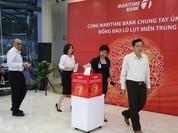 Maritime Bank tổ chức các chương trình ủng hộ đồng bào bị bão lũ miền Trung