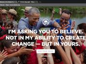 Obama ra website mới sau khi rời Nhà Trắng