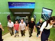 Dân Hà Nội háo hức đi xem đoàn tàu đô thị trên cao
