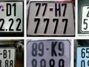 Sẽ thí điểm đấu giá biển số xe tại 5 địa phương