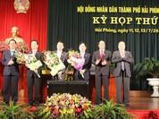Hải Phòng bầu thêm 2 Phó chủ tịch UBND thành phố
