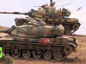 Thổ Nhĩ Kì pháo kích, giết chết 55 tay súng IS ở Syria