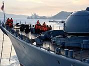 Hạm đội Thái Bình Dương chào đón Ngày chiến thắng tại Singapore