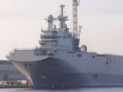 Tàu sân bay trực thăng Mistral đã chính thức về tay Ai Cập