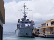 Tàu tên lửa Germinal của Hải quân Pháp đến Cuba