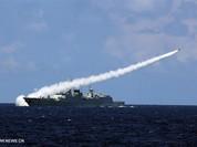 Tàu chiến, máy bay Trung Quốc bắn tên lửa thật trong tập trận ở Biển Đông