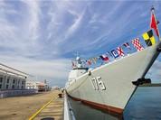 Trung Quốc bàn giao tàu chiến mạnh nhất cho Hạm đội Nam Hải