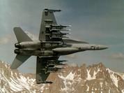 Cường kích F/A-18C của Mỹ rơi khi đang bay huấn luyện