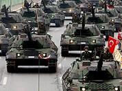 Thổ Nhĩ Kỳ bất ngờ điều thêm vũ khí vượt biên giới vào Syria