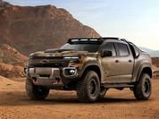 Chevrolet trình diễn mẫu xe off-road chạy pin nhiên liệu của quân đội Mỹ