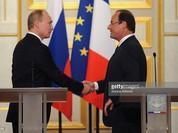 Vì sao ông Putin bất ngờ hủy chuyến thăm Pháp?