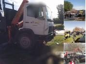 Tấn công bằng xe tải ở Jerusalem: 4 người chết, 15 người bị thương - VIDEO