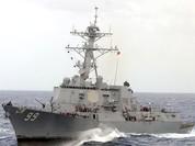 Tàu chiến Mỹ bắn cảnh cáo tàu Iran trên Eo biển Hormuz