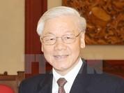 Tổng Bí thư Nguyễn Phú Trọng bắt đầu thăm chính thức Trung Quốc