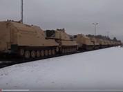 Video: Xe tăng, pháo tự hành hạng nặng của quân Mỹ tập kết ở Ba Lan