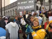 Los Angeles: Hơn 500.000 người Mỹ xuống đường biểu tình phản đối ông Trump - VIDEO