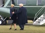 VIDEO: Cha con ông Trump lên trực thăng đến thăm thân nhân đặc nhiệm Mỹ
