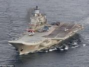 Hạm đội Nga rầm rộ tới Syria, chuẩn bị kết liễu phiến quân ở Aleppo