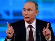 Tổng thống Nga họp báo, 1.437 phóng viên tham dự