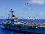 Tàu sân bay Mỹ, Trung Quốc có thể chạm trán nhau trên Biển Đông