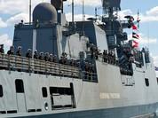 Nga điều chiến hạm từng phóng tên lửa đánh phiến quân Syria tới Địa Trung Hải