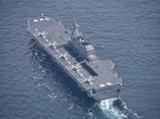 Nhật điều chiến hạm mạnh nhất tới Biển Đông, Trung Quốc phản ứng gì