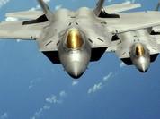 """Siêu tiêm kích F-22 Mỹ """"át vía"""" HQ-9 Trung Quốc"""